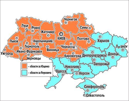 итоги выборов президента Украины